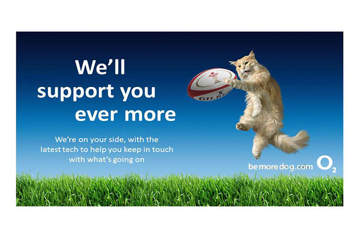 Idea for O2 rugby sponsorship